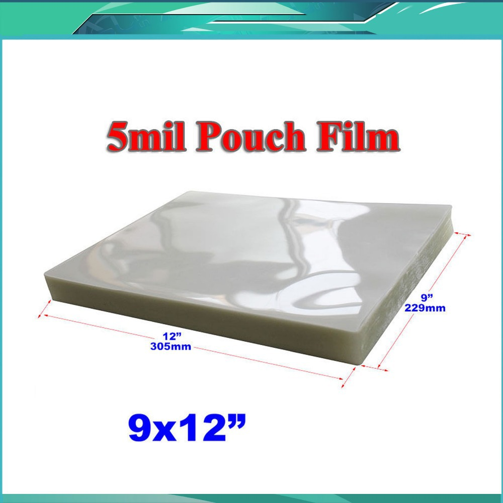100 Sheets 12x18 Quot Pvc 2flap Laminating Pouch Film 5mil In