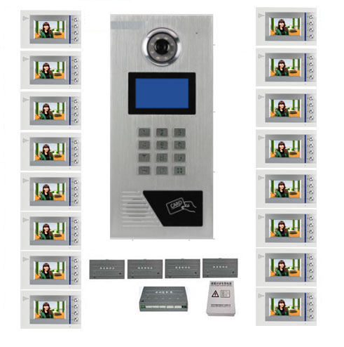 Access Control Accessories Smart Xinsilu Building Home Security Video Intercom System Video Door Phone Decoder For Home Building Video Doorbell Apartments Back To Search Resultssecurity & Protection
