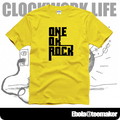 new 2017 free shipping one ok rock oor Rock and roll print couple clothes sitcoms men male man short-sleeve T-shirt