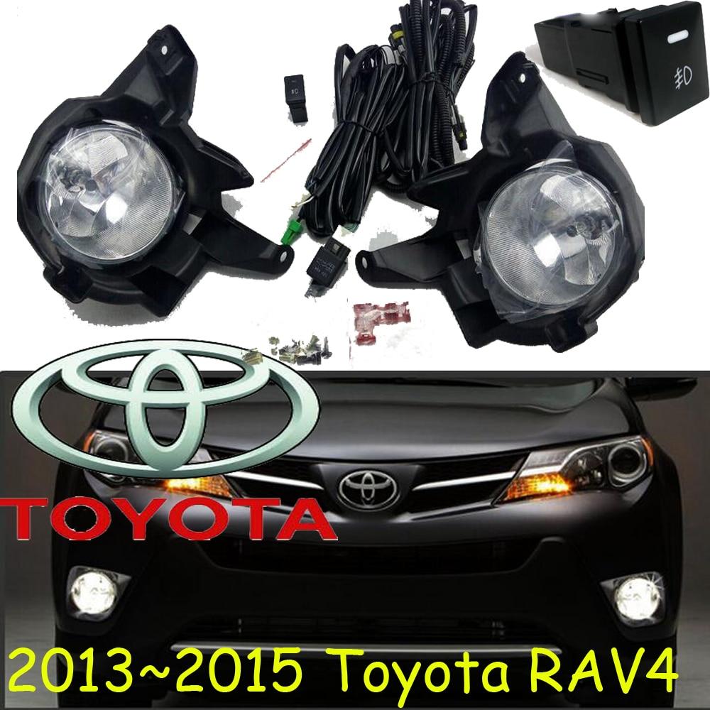 car-styling,RAV4 fog lamp,2013~2015,Halogen,2pcs/set+wire ON/FF,RAV4 headlight,steering-wheel,RAV4 front light;RAV 4,RAV4 rav 4 3 door
