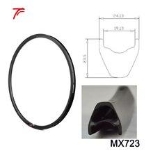 2 шт. велосипедный горный велосипед 27,5 дюймов mtb бескамерная шина обод без крючка велосипедные диски MX723