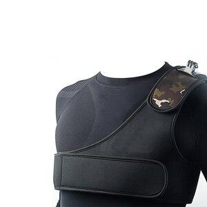 Image 2 - Sangle dépaule large sangle de fixation poitrine harnais ceinture adaptateur pour Gopro Hero 7 6 5 4 3 + Xiaomi Yi SJCAM Action caméra accessoires