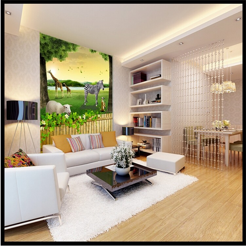 beibehang 3d foto tapeten wohnkultur hintergrund schlafzimmer wohnzimmer tier natur wand mural tapete fr wnde 3 d boden fliesen in beibehang 3d foto - Natur Wand Im Wohnzimmer