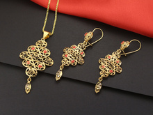 Jewelry Set 18K Gold Filled 18inch Box Chains Necklace Pearl Pendant Necklace +Earrings JD009  цена и фото