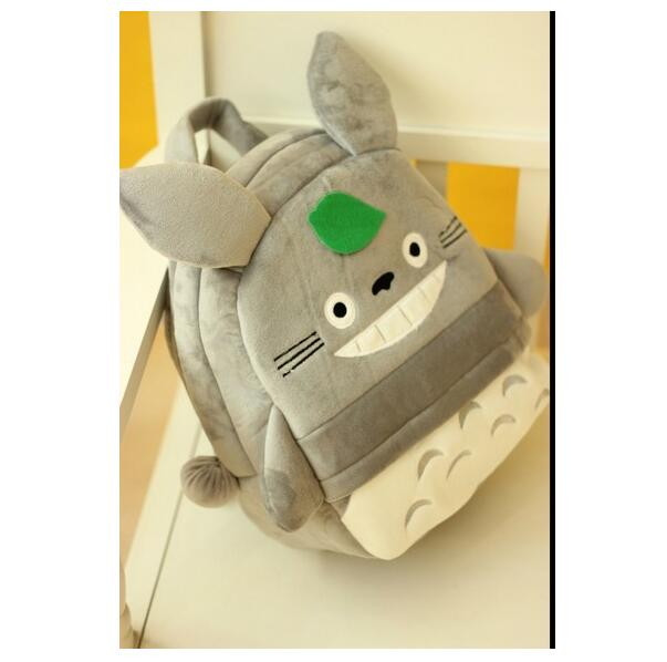 Totoro Backpack Plush Bag Shoulder School Cartoon Totoro Animal Backpack For Child Girl And Boy
