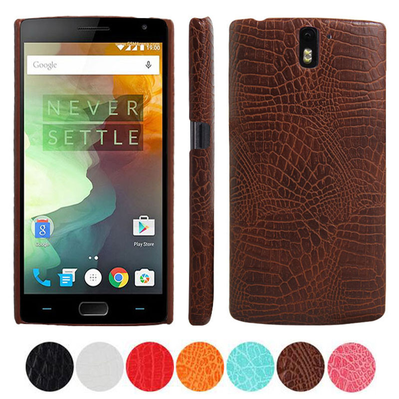 Oneplus One Case A0001 Crocodile Pattern Leather Phone Cover for One Plus One Case Oneplus 1 coque fundas One Plus 1 Capa Fundas