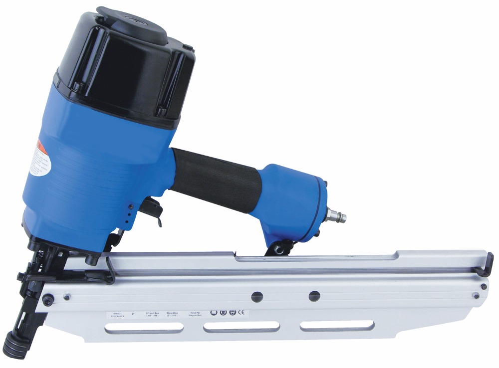 SAT1600 High Quality Pneumatic Die-Casting Body Stapler 360 Degree Adjustable Exhaust Air Nail Gun sat elite 1600 for the redesigned 2016 exam