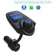 Eincar Car MP3 Player FM Transmitter Bluetooth Handsfree Car Kit Wireless Radio Audio Adapter TF Slot