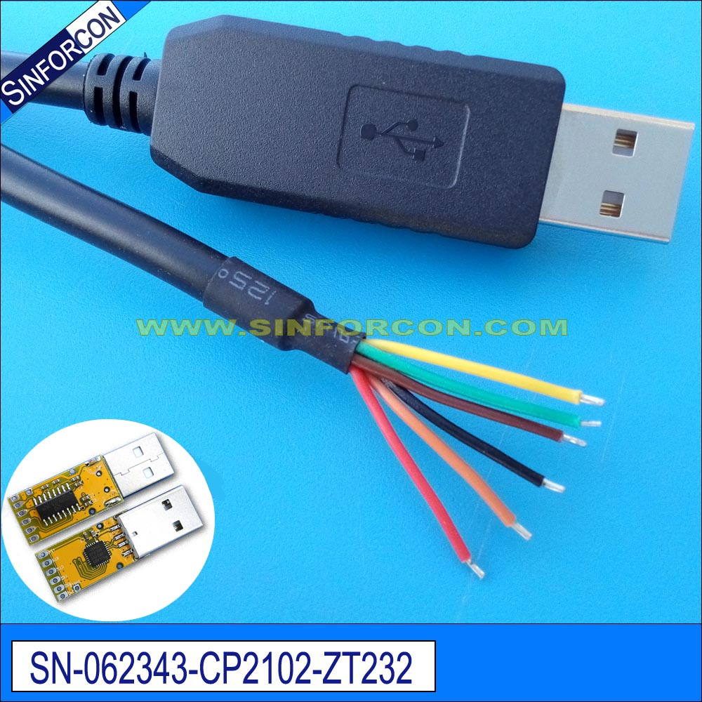 Win8 10 Pl2303ta Usb Rs232 Adapter Cable With 25mm Audio Jack Wiring Diagram Silcon Labs Cp2102 Serial Wire End Cp210x