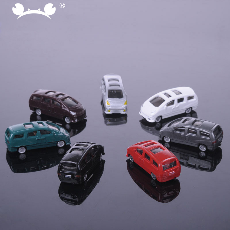 50pcs/lot Model Car 1:100 HO Scale Building Train Scenery Sand Table Material