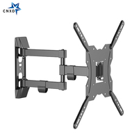 Ultra Slim TV Wall Mount Full Motion Articulating Arm Swivel and Tilt TV Bracket for LCD, LED, 3D Plasma TVs