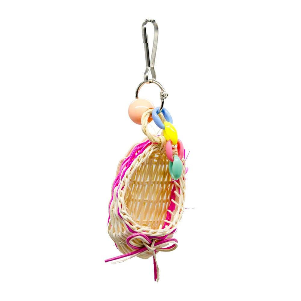 Chim Đồ Chơi Cho Châu Phi Màu Xám Vẹt Phụ Kiện Giày Xăng Đan Đồ Thú Cưng Lồng Trang Trí Cá Rô Và Budgie Danh Pháp zabawki dla papugi