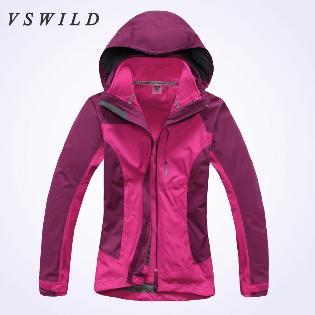 Women Winter Triple Combo Jackets For Women Warm Thick ...