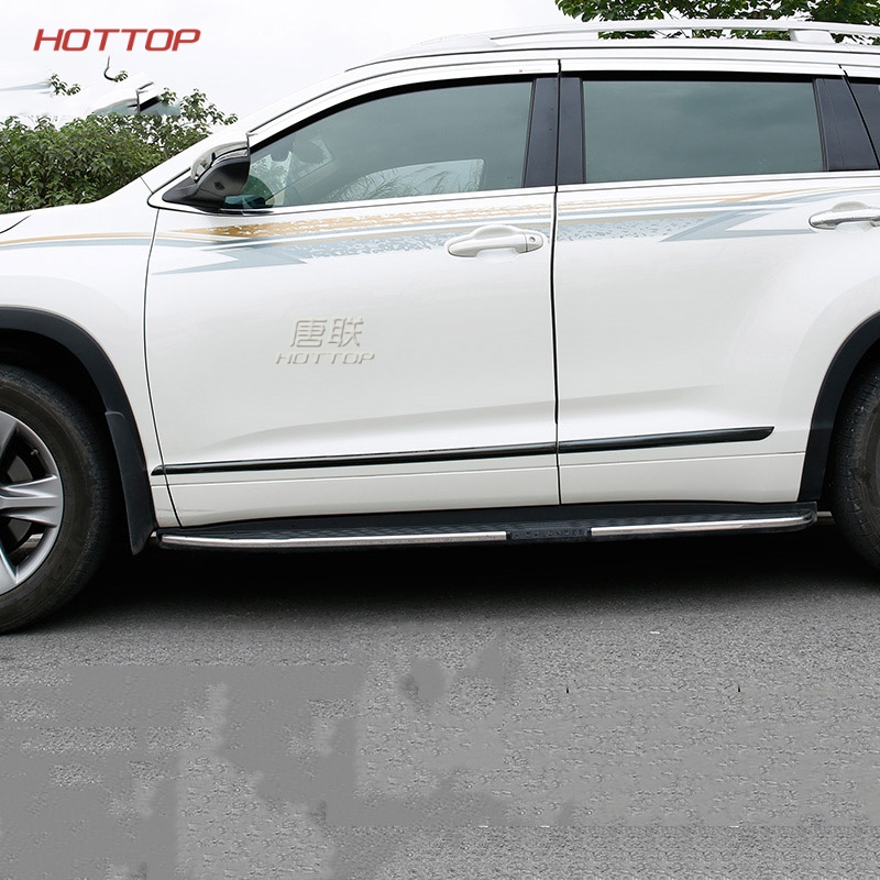 Chrome Door Side Body Moulding Molding Trim Strip Line for Toyota Highlander 2015 2016 2017 2018 Decoration trim