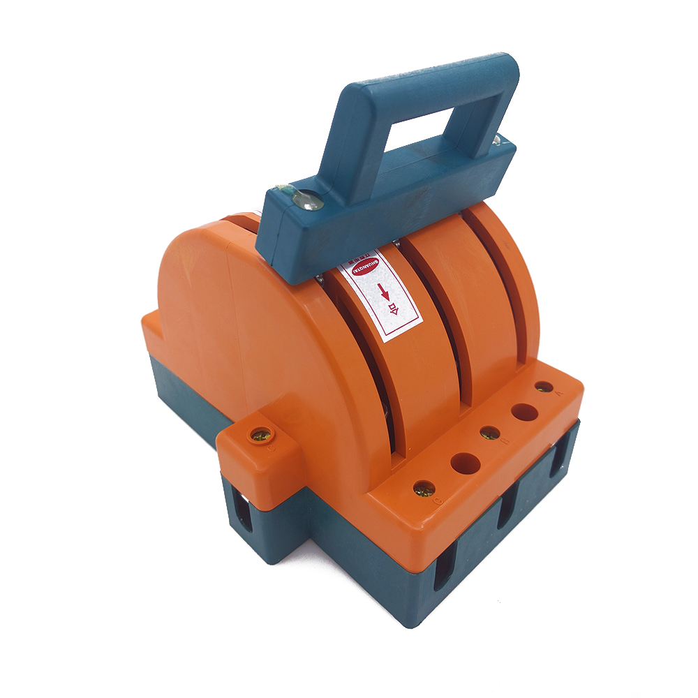 ФОТО Wholesale Heavy Duty 100A Three Poles Double Throw Knife Disconnect Switch Delivered Safety Knife Blade Switches
