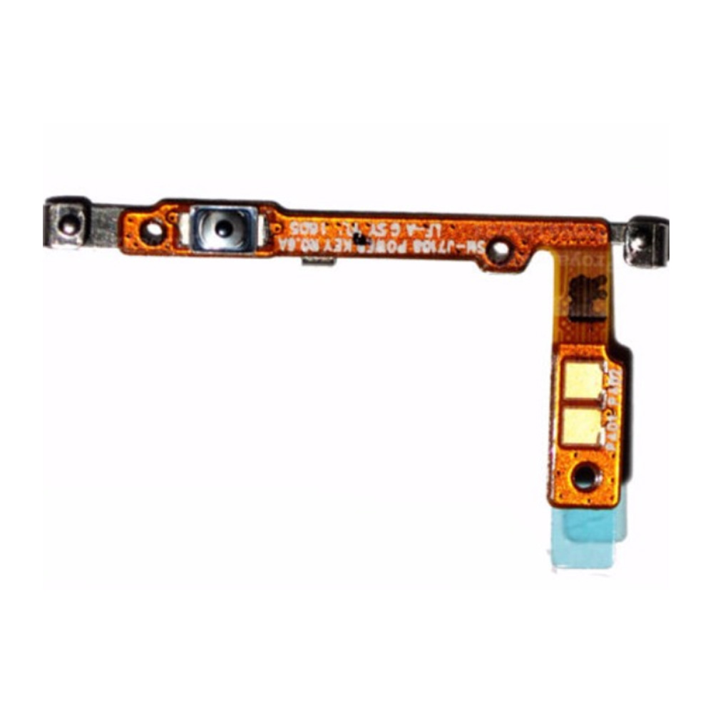 Power On Off Switch Button Flex Cable Repair Parts For Samsung Galaxy J7 2016 J710