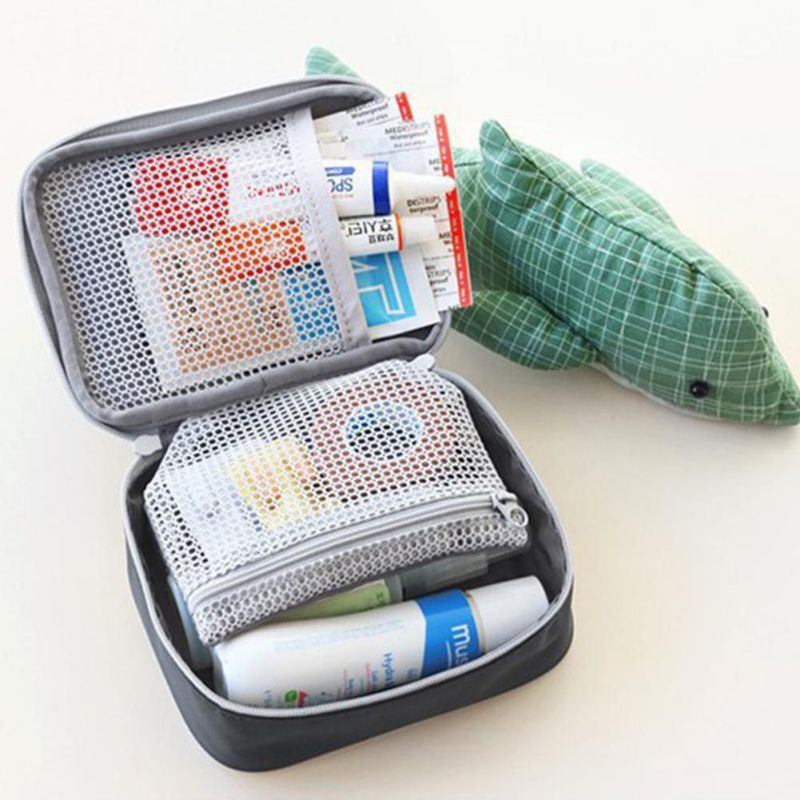 Mini Outdoor First Aid Kit Bag Travel Portable Medicine Package Emergency Kit Bags Medicine Storage Bag Small Organizers(China)