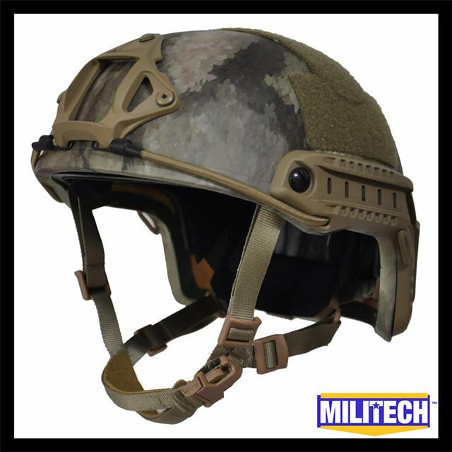 Lg/xlg atacs au deluxe 3a rápido à prova de balas nij nível iiia relatório de teste balístico kevlar capacete com hp branco 5 anos garantia