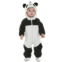 Unisex Baby Infant Cute Animal Panda Snowsuit Long Sleeve Newborn Baby Rompers Baby Costume Clothing Clothes