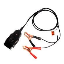 Auto Car Vehicle OBD Computer ECU Memory Saver Replace Battery Safe Hand Tool