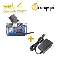 Orange Pi 2G-IOT Set4: Orange Pi 2G-IOT + US OTG Power Supply, ARM Cortex-A5 32bit, Bluetooth,Beyond Raspberry