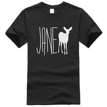 Life Is Strange Jane Doe Teal Character Cotton T-Shirt T Shirt Men O-Neck Fitness TShirt Hip Hop Brand Clothing Teenager T351