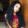 250% плотность 7а полный человеческих волос парики для чернокожих женщин глубокая вьющиеся Glueless полный парики человеческие волосы перед парики 12 - 24