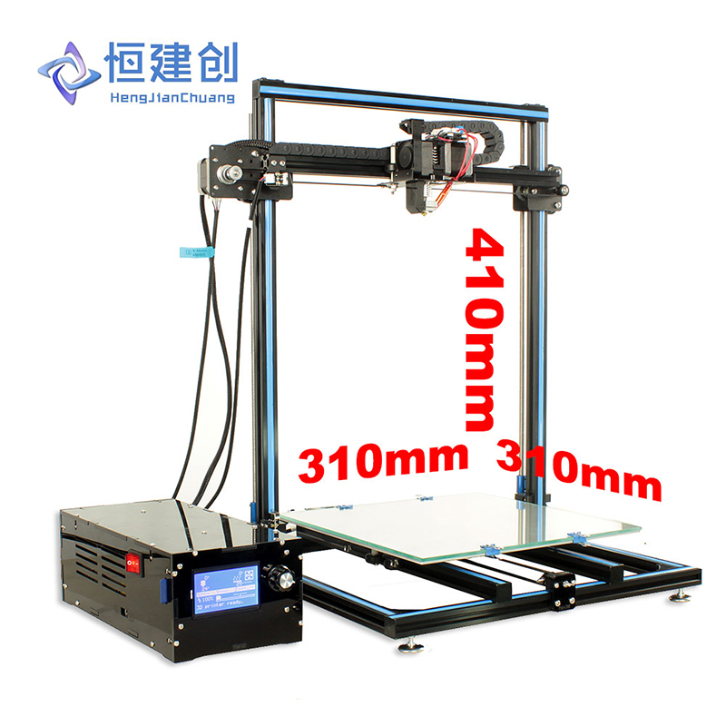 3D Printer Large Size Dual Drive Double Y axis track + Double Z axis Stable And Reliable 3D Printer HCmaker 7 HJC stable page 7