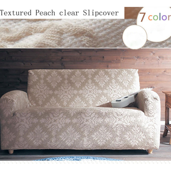 Fresh pattern lace simple all wrapped elastic universal non-slip finished product customizable  sofa cover without armrest .