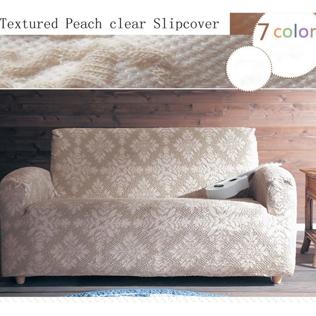 Fresh Pattern Lace Simple All Wrapped Elastic Universal Non Slip Finished  Product Customizable Sofa Cover