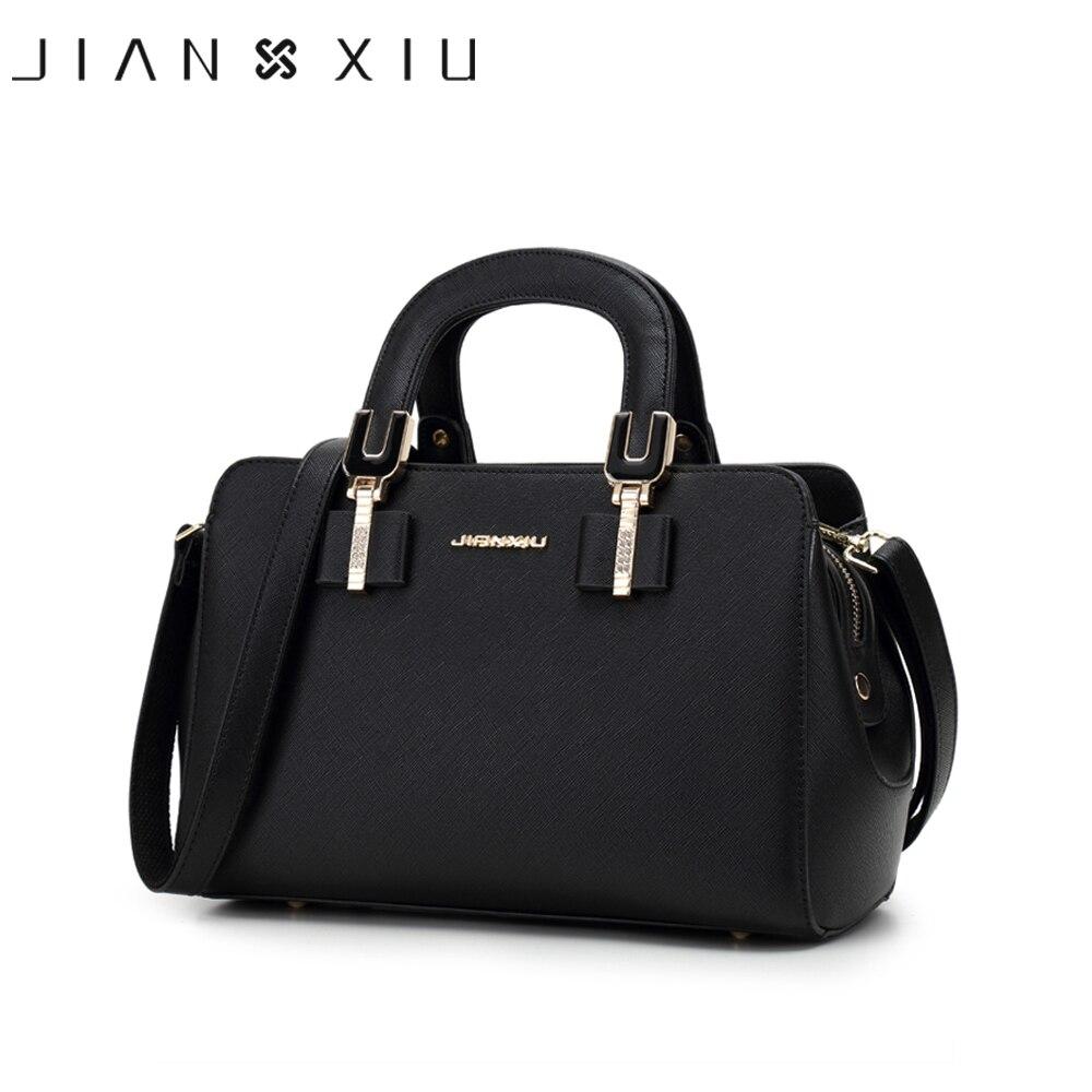6b1d582637cc JIANXIU бренд Для женщин Курьерские сумки искусственная кожа Сумочка  дизайнер Сумки высокое качество Винтаж женский плечо Crossbody сумка