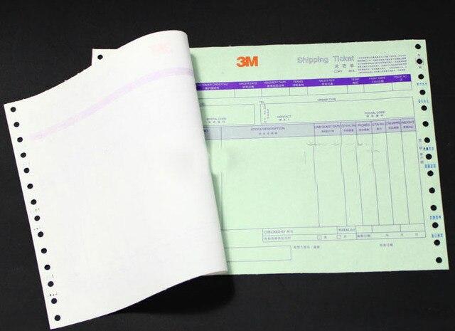 custom carbonless printed paper receipt invoice books print in