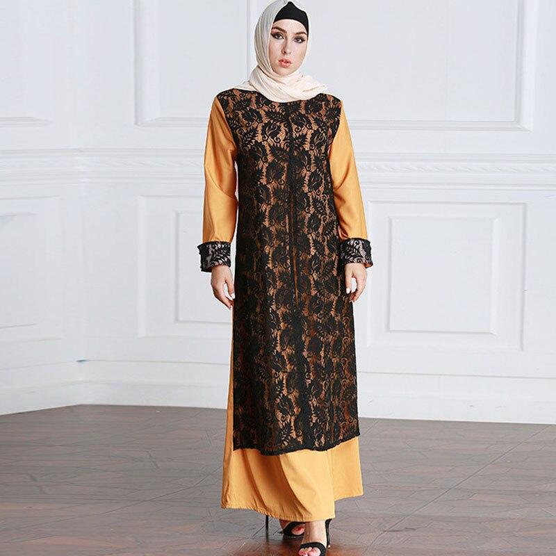 Abayas For Women 2019 Muslim Abaya Kaftan Dubai Arabic Hijab Dress Ramadan Turkish Islamic Clothing Jilbab Robe Elbise Caftan