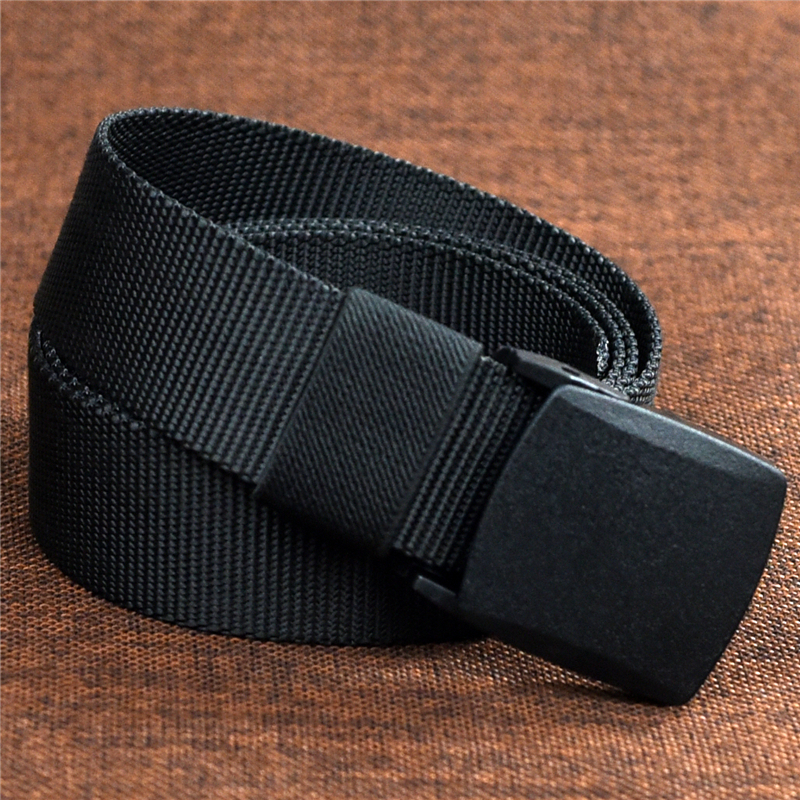 Automatic nylon military men's belt 7