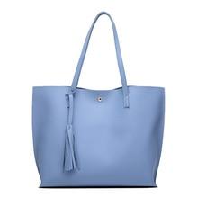 Luxury Brand Women Shoulder Bag Soft Leather Top-handle Bags Ladies Tassel Tote Handbag High Quality Women's Handbags Bolsas