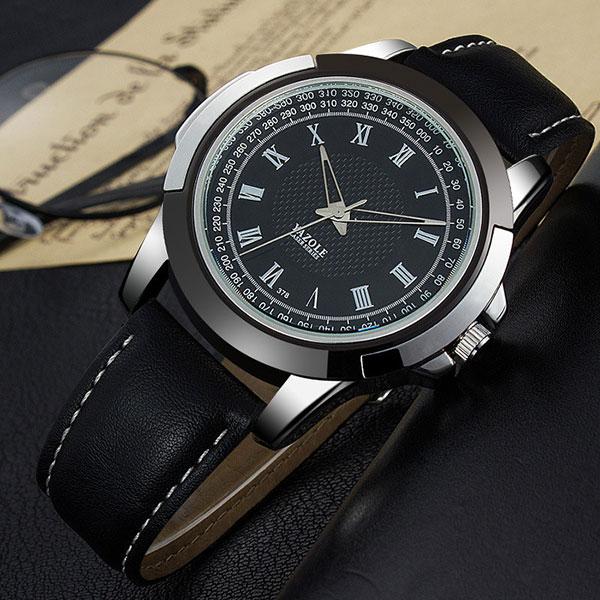 YAZOLE Business Wristwatch Top Brand Luxury Famous Wrist Watch Men Watches Male Clock Quartz Watch Hodinky Relogio Masculino