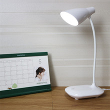 LAIDEYI  LED USB Charge Desk Lamps 3 Level Dimmable Touch Switch Student Reading Led Lamp Eye Protect Table Lamp Office Lamp
