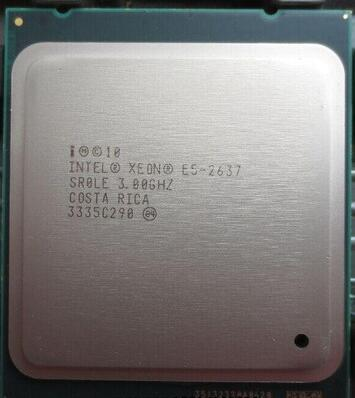 Best quality Original XEON E5-2637 E5 2637 3.0GHz DUAL-Core 5M LGA2011 1600MHz 80W 1 year warranty Delivery 1day