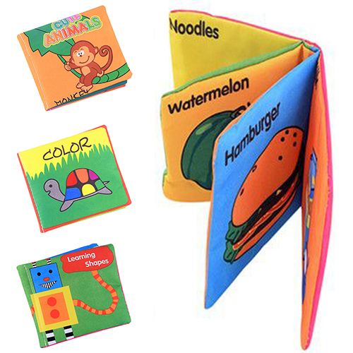Infant-Baby-Children-Kids-Intelligence-Development-Cloth-Book-Cognize-Book-Toys-7KJC-3