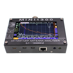 """Image 2 - MINI1300 5V/1.5A HF VHF UHF Antenna Analyzer 0.1 1300MHZ Frequency Counter SWR Meter 0.1 1999 with 4.3"""" TFT LCD Touch Screen"""