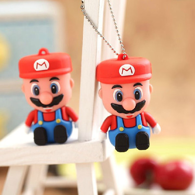USB 3.0 3D Cartoon Super Mario Mini USB Memory Stick Card Pen Drive 8GB 16GB 32GB Pendrive Flash Drive 64GB 128GB 1TB 2TB Gift