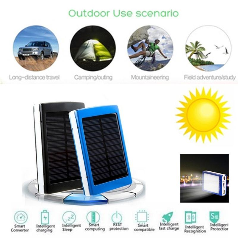 Cewaal Multifunctional Camping LED Light Solar Power Bank Charger Case DIY  Kits Environmental protection without pollution