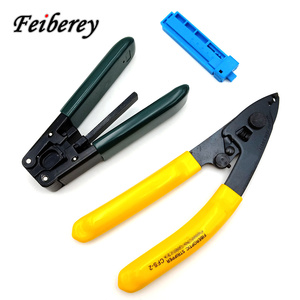 Image 1 - 3 in 1 FTTH Fiber Optic Stripper Tool Kit CFS 2 CFS 3 Optical Fiber Stripping Plier Indoor Drop Cable Sheath Peeling Plier