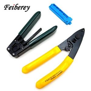 Image 1 - 3 in 1 FTTH Fibra Ottica Stripper Tool Kit CFS 2 CFS 3 in Fibra Ottica Pinza A Nudo Pinza Interna di Goccia Guaina Del Cavo Peeling pinza