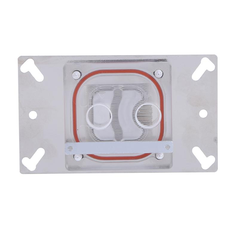 Newest Water Cooling G1/4 CPU Water Block Base Water Cooler Radiator for CPU AMD AM2/AM2+/AM3/FM1/940 High Quality bykski water cooling radiator cpu block use for amd threadripper 940 am2 am3 am4 x399 1950x rgb or aurora light radiator block