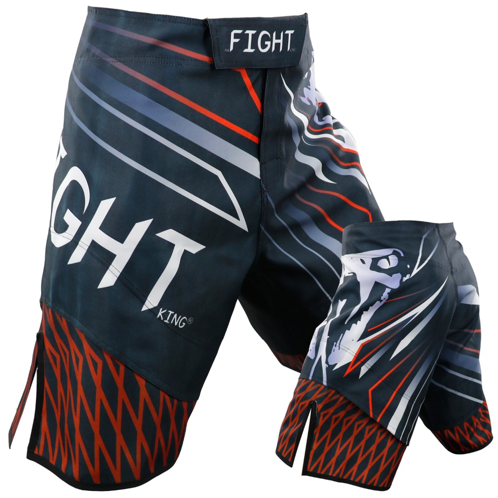 2019 Men Summer New MMA Fighting Sports Shorts UFC Comprehensive Fighting Training Shorts Fitness Quick Drying Shorts Polyester