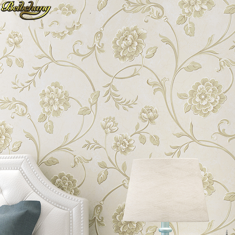 beibehang American 3d wall murals Luxury flowers wall papers home decor background wallpaper For bedroom living room decorationbeibehang American 3d wall murals Luxury flowers wall papers home decor background wallpaper For bedroom living room decoration