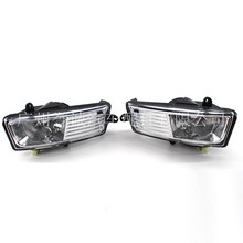 for Audi 09-12 year A6L C6 Sports Fog Lamp Front Headlight Grid Bumper Assembly 2pcs