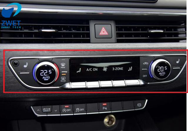 ZWET Car For Audi A B Air Conditioning Control Unit Ac Automatic - Audi automatic car