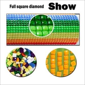 Image 3 - ホットアメリカンスタイルの 5D diy ダイヤモンド刺繍カップルツリーの下ダイヤモンド塗装クロスステッチのラインストーンの装飾のギフト